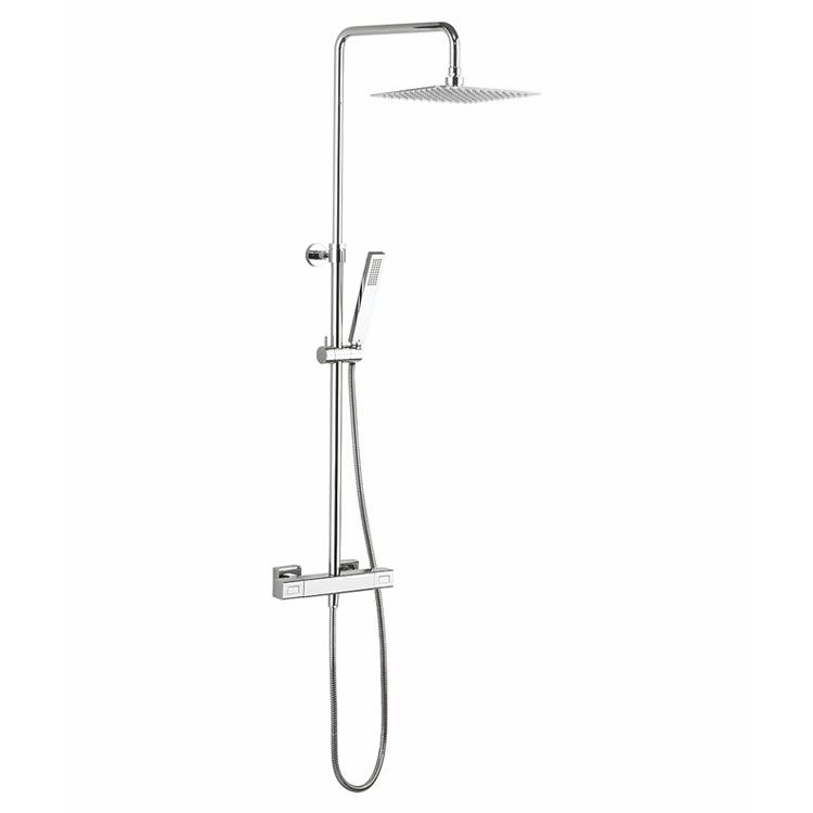 Crosswater Atoll Square Multifunction Thermostatic Shower Valve