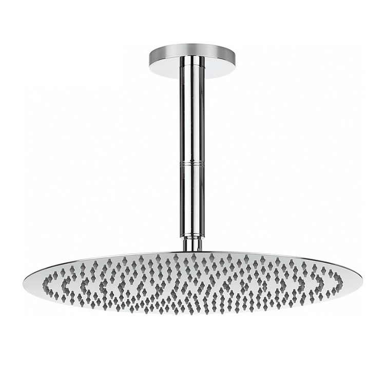 Crosswater Central 400mm Fixed Shower Head & Arm