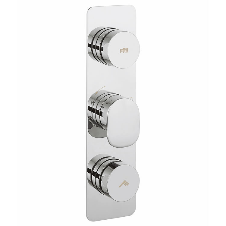 Crosswater Dial Shower Valve 2 Control with Pier Trim