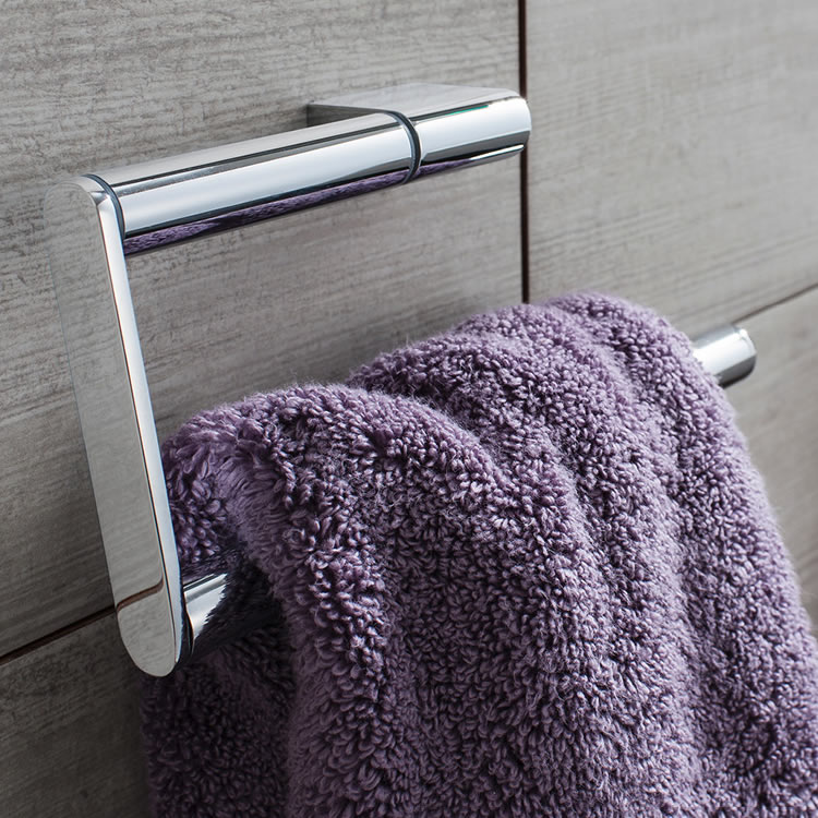 Crosswater Mike Pro Chrome Towel Ring