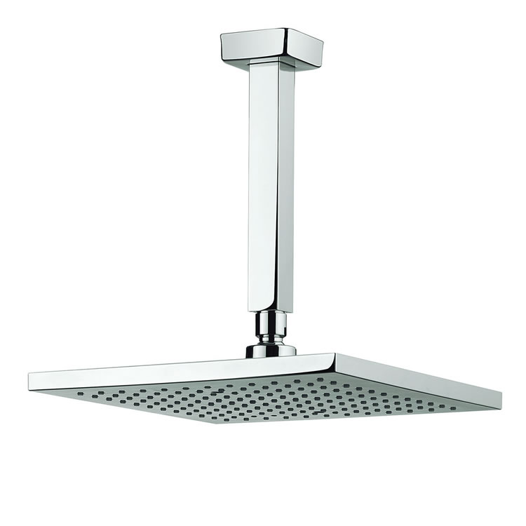 Adora Planet 250mm Square Fixed Head & Ceiling Arm