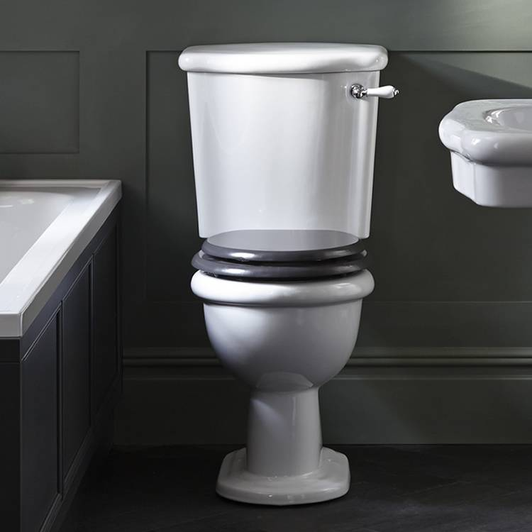 Heritage Victoria Comfort Height Close Coupled WC & Cistern