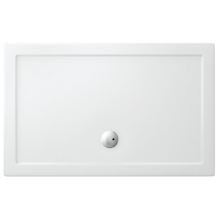 Crosswater Simpsons 1600 x 800mm Rectangle Shower Tray & Waste
