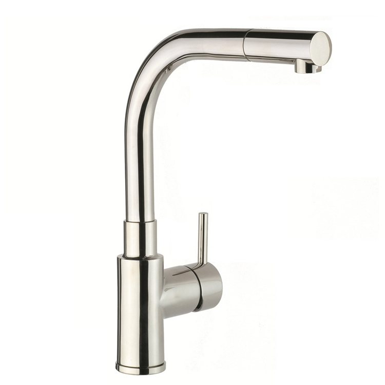 JTP Apco Stainless Steel Kitchen Sink Mixer With Pull Out Spout