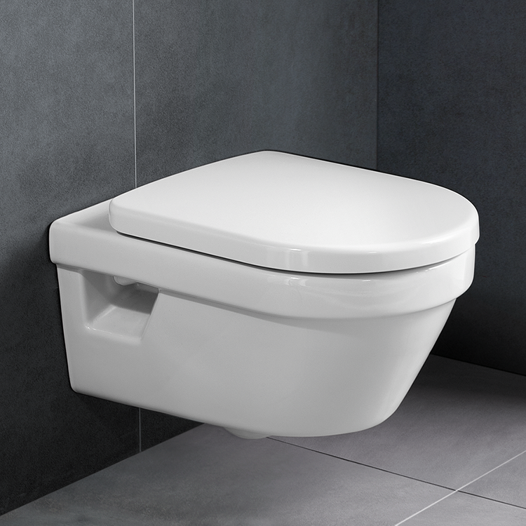 Lifestyle Photo of Villeroy and Boch Architectura Compact Rimless Wall Hung WC