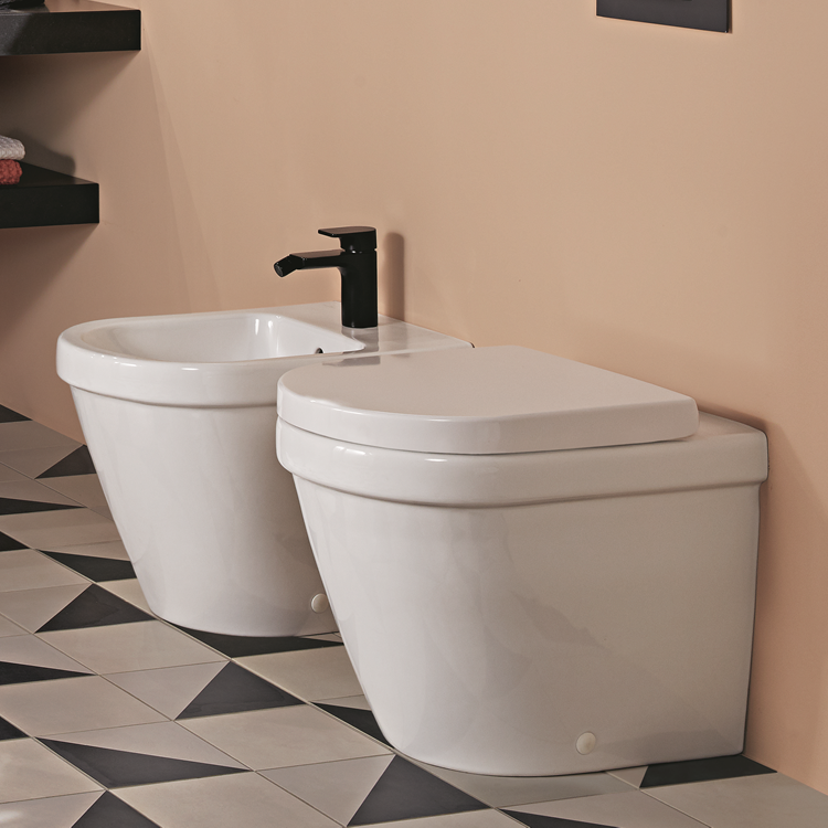 Photo of Villeroy and Boch Architectura Rimless Back to Wall WC Lifestyle