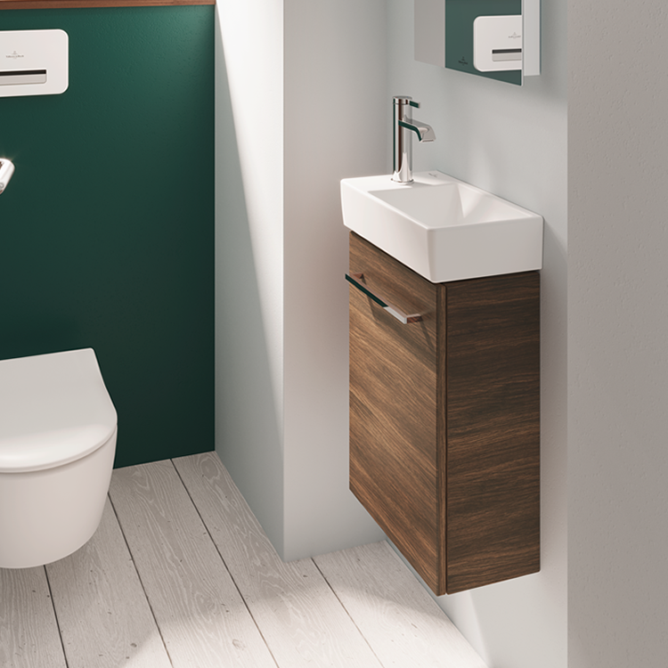 Villeroy And Boch Avento 360mm Wall, Villeroy And Boch Avento Small Vanity Unit