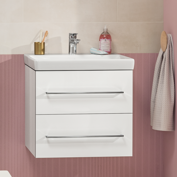 Villeroy And Boch Avento 600mm Wall, Villeroy And Boch Avento Small Vanity Unit