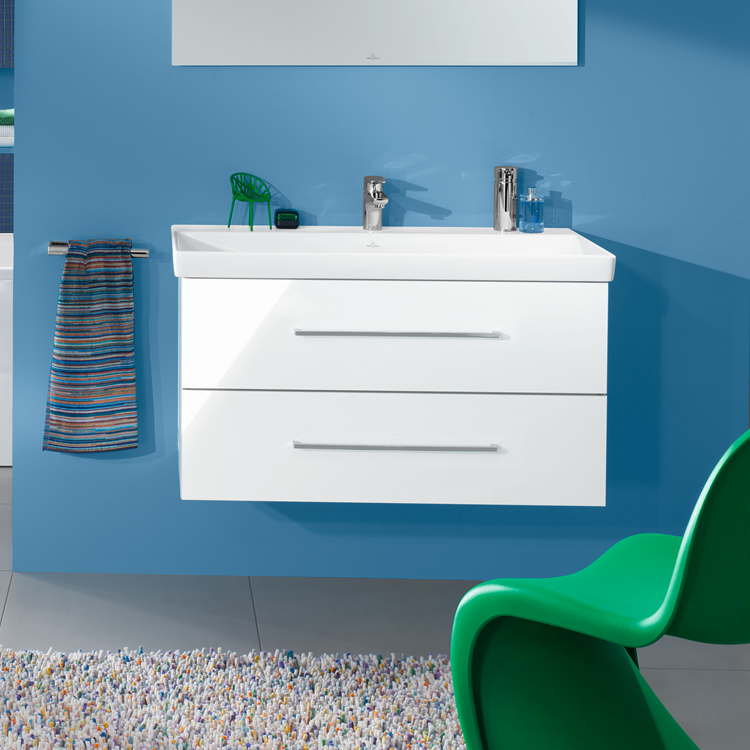 Lifestyle Photo of Villeroy and Boch Avento 800mm Wall Hung Unit