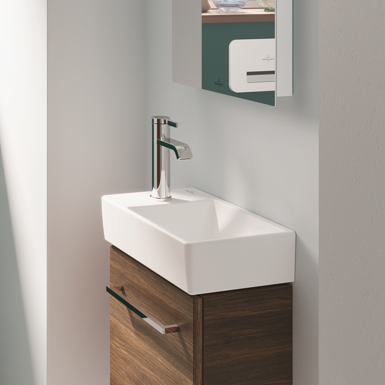 Lifestyle Photo of Villeroy and Boch Avento Wall Mounted Hand Wash Basin
