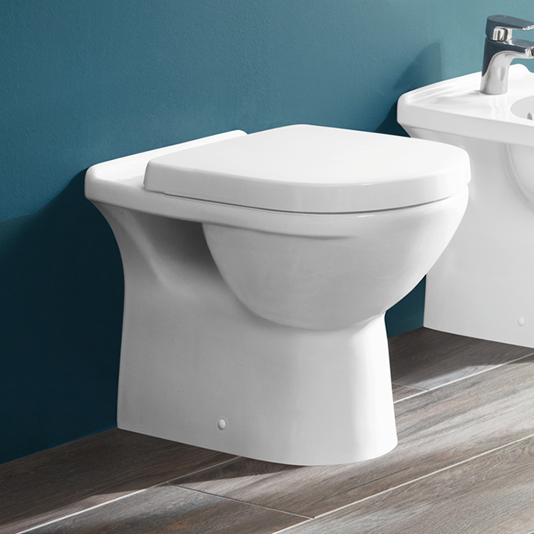 Lifestyle Photo of Villeroy and Boch O.Novo Back to Wall WC & Seat