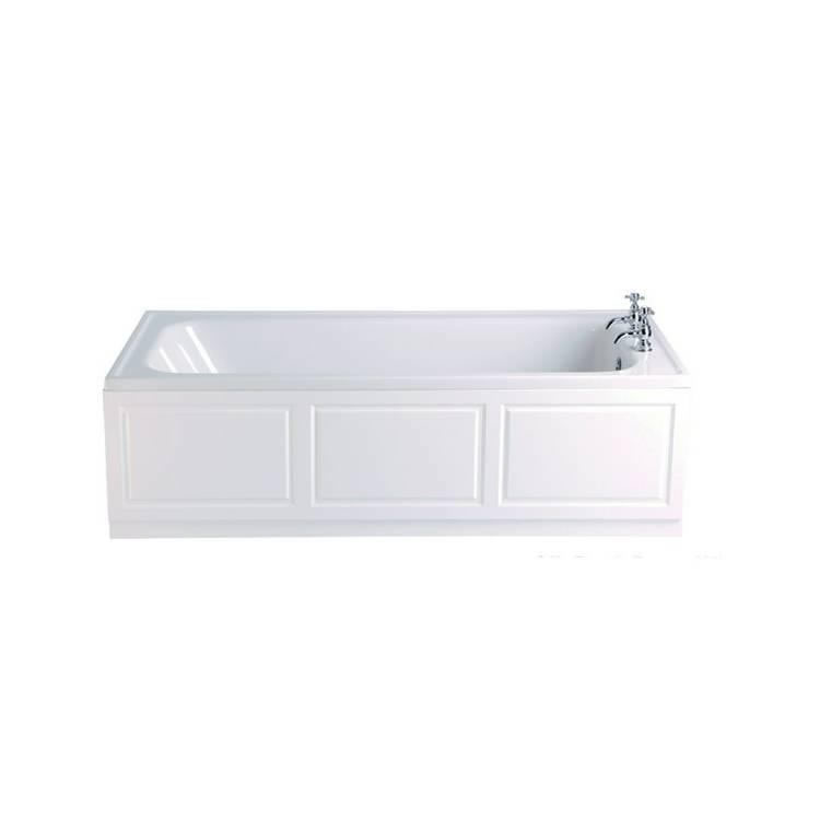Heritage Victoria Acrylic 1800mm Super Deep Single Ended Fitted Bath Image