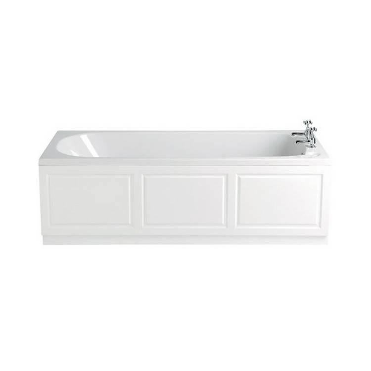 Heritage Dorchester Acrylic 1700mm Single Ended Fitted Bath Image