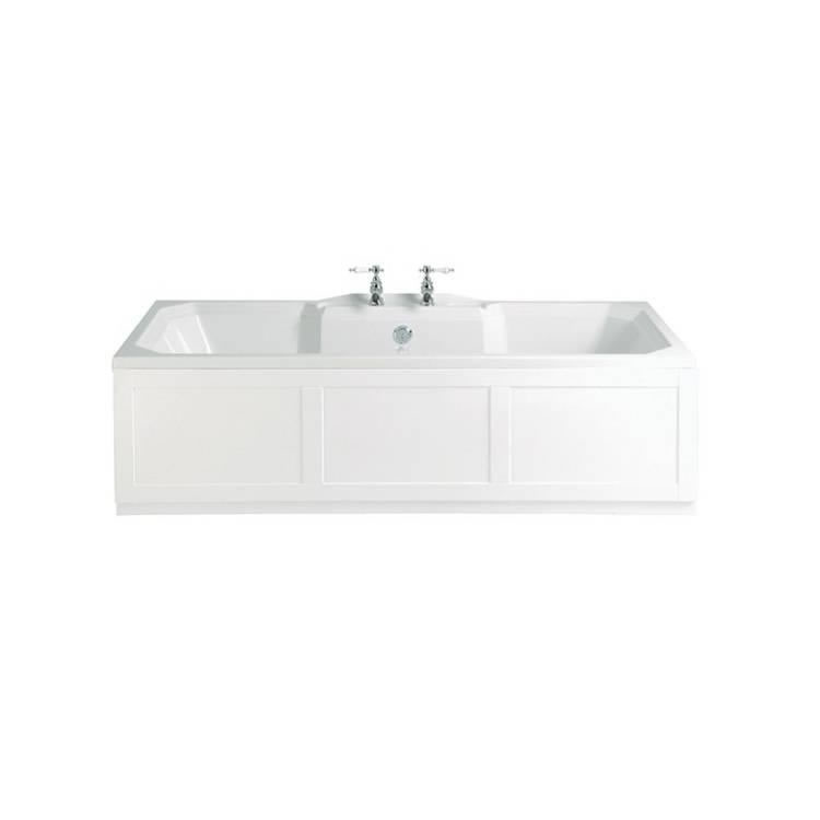 Heritage Granley Acrylic 1800mm Double Ended Fitted Bath Image