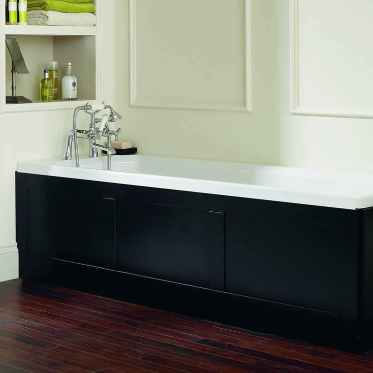 Heritage Granley Deco Acrylic 1700mm Single Ended Fitted Bath Image