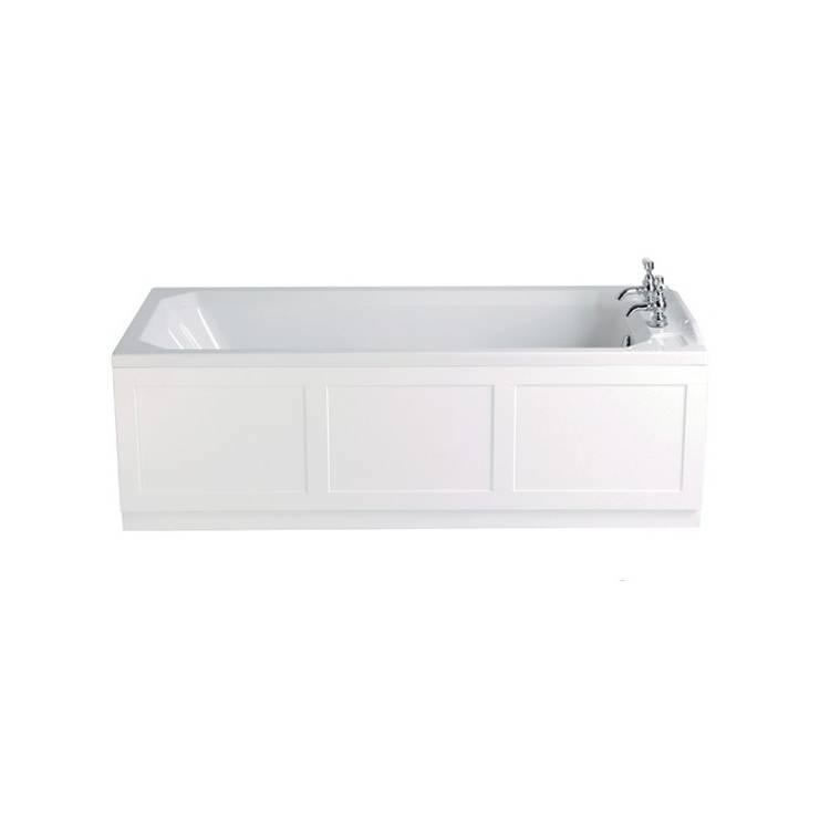 Heritage Granley Acrylic 1700mm Single Ended Fitted Bath Image