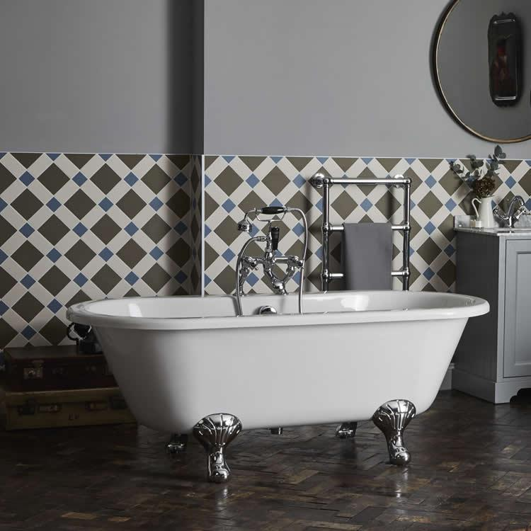 Lifestyle Photo of Bayswater Leinster 1500mm Double Ended Freestanding Bath