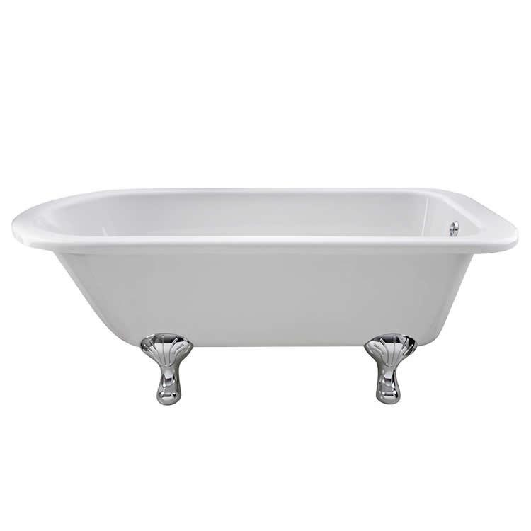 Photo of Bayswater Sutherland 1700mm Single Ended Freestanding Bath Side View