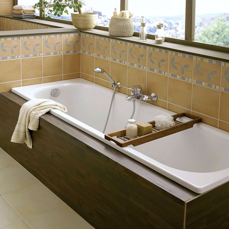 Photo of Bette Classic 1800 x 700mm Single Ended Steel Bath Lifestyle Image