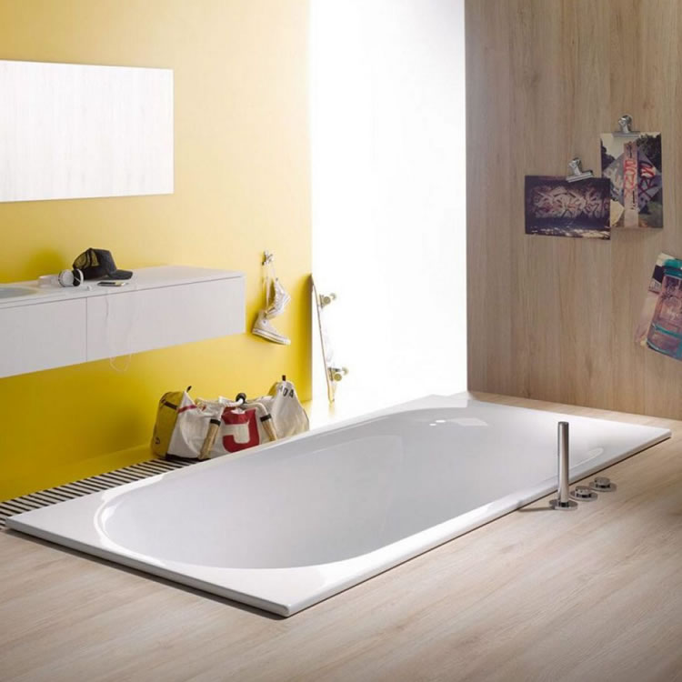 Lifestyle Photo of Bette Comodo 1800 x 800mm Single Ended Bath