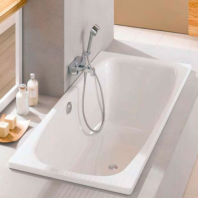 Photo of Bette Duett 1700m x 800mm Double Ended Bath Lifestyle Image
