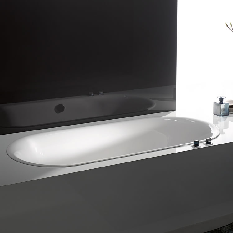 Lifestyle Photo of Bette Lux Oval 1800 x 800mm Double Ended Bath