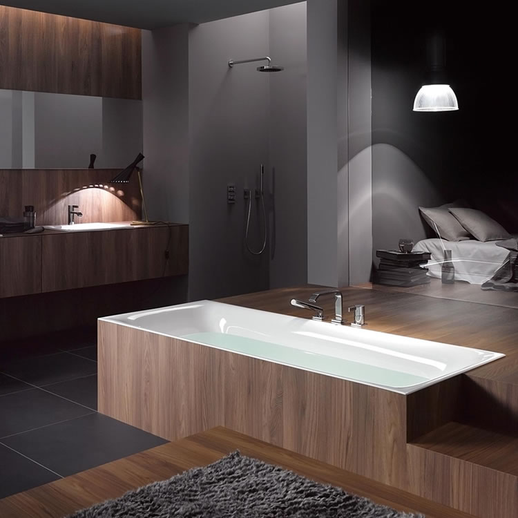 Lifestyle Photo of Bette Lux 1700 x 750mm Double Ended Bath