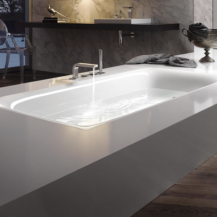 Photo of Bette Lux 1800 x 800mm Double Ended Bath Lifestyle Image