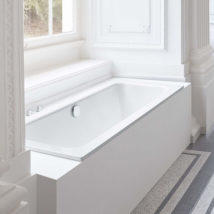 Photo of Bette One 1700 x 700mm Double Ended Bath Lifestyle Image