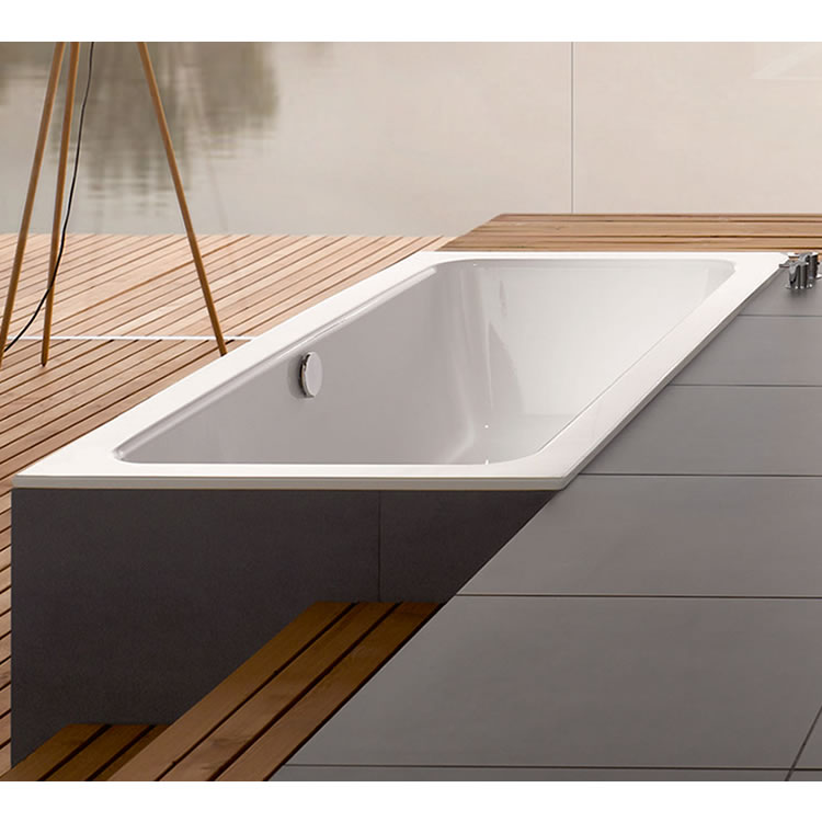 Photo of Bette One 1700 x 750mm Double Ended Bath Lifestyle Image