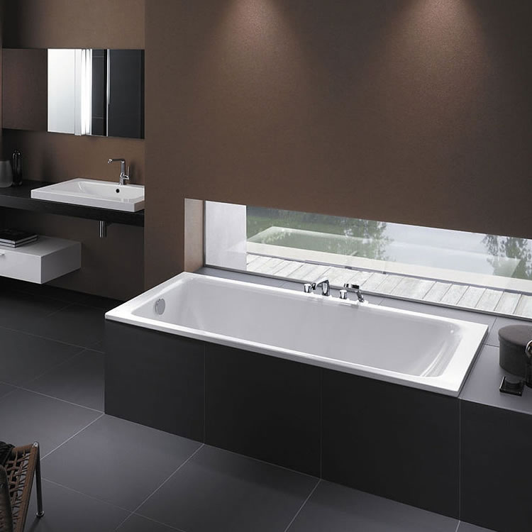 Photo of Bette Select 1600 x 700mm Double Ended Bath Lifestyle Image