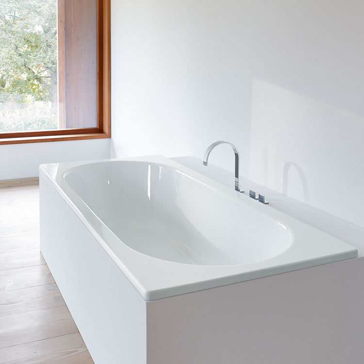 Photo of Bette Starlet 1650 x 700mm Double Ended Bath Lifestyle Image