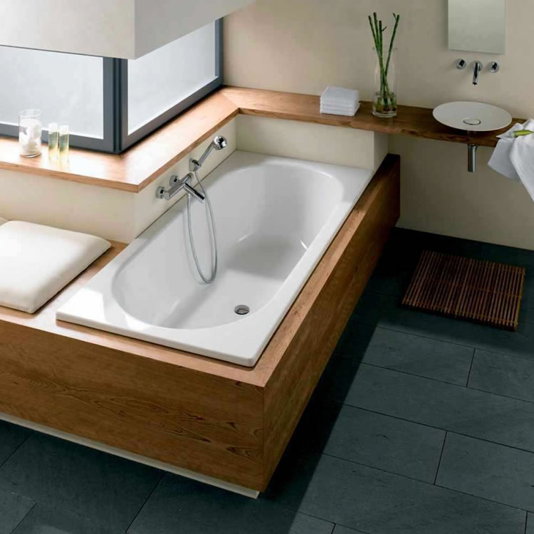 Lifestyle Image of Bette Starlet 1800 x 800mm Double Ended Bath