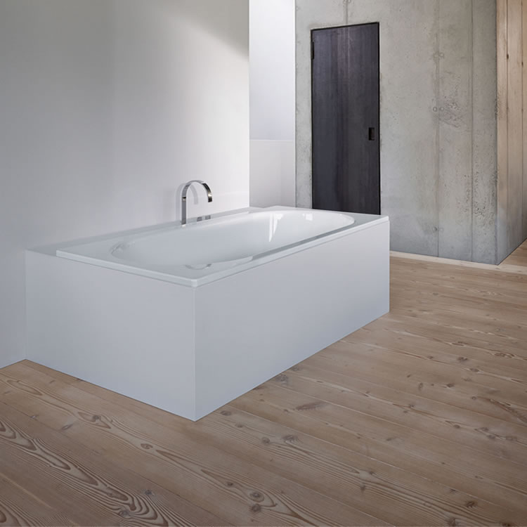 Photo of Bette Starlet 1600 x 650mm Double Ended Bath Lifestyle Image
