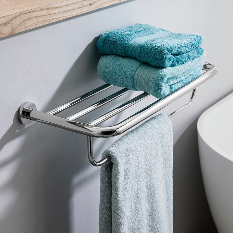 Photo of Crosswater Central Double Towel Rail Lifestyle Image