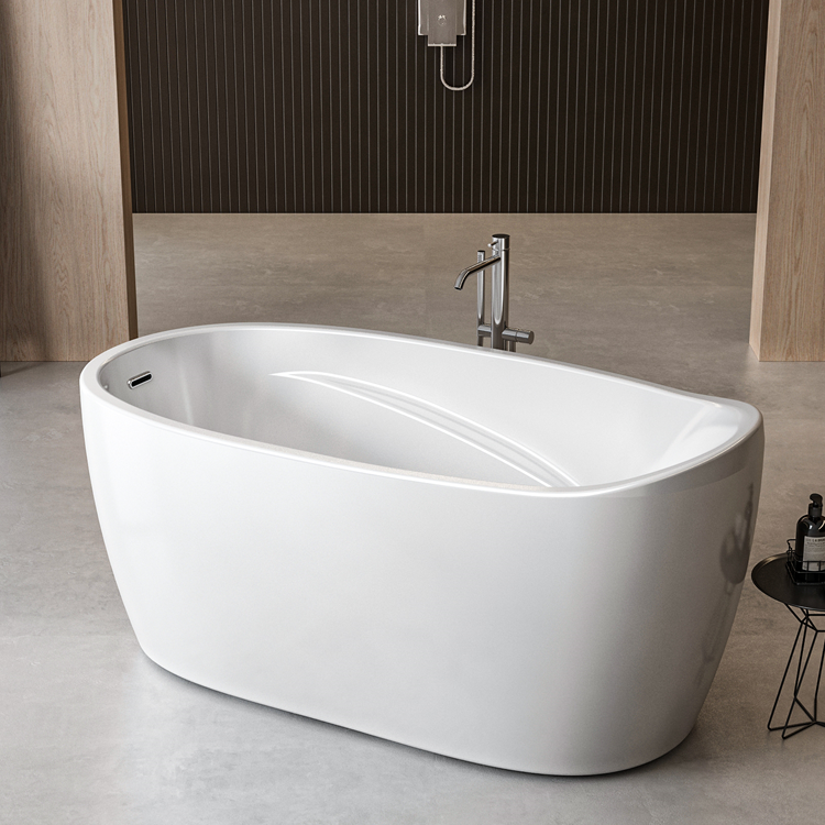 Lifestyle Photo of Charlotte Edwards Ceres 1400mm Gloss White Freestanding Bath