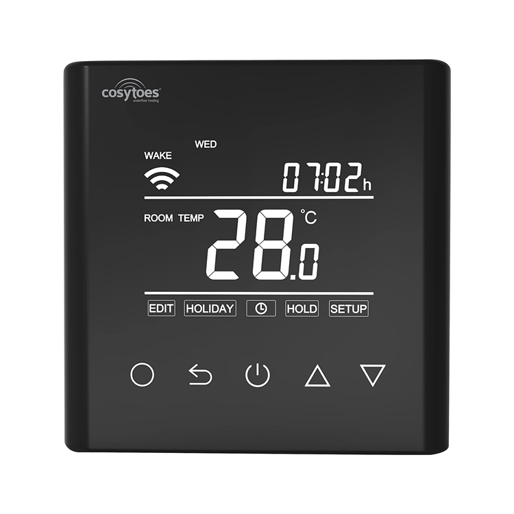 Photo of Cosytoes Curve Black Wi-Fi Enabled Timerstat Cutout