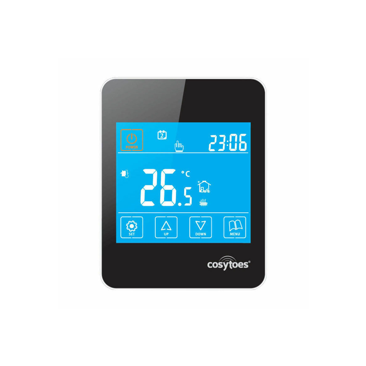 Photo of Cosytoes Gloss Black Touchscreen Timerstat Cutout