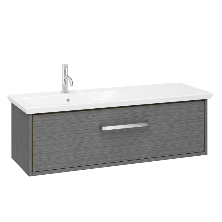 Photo of Crosswater Arena Steel 1000mm Console Unit & Basin Left Handed