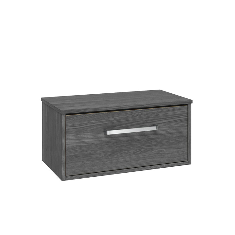 Photo of Crosswater Arena Steelwood 700mm Single Drawer Unit & Worktop Cutout