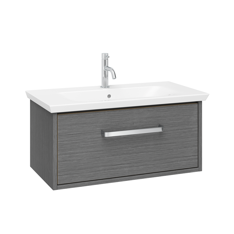Photo of Crosswater Arena Steel 700mm Console Unit & Basin