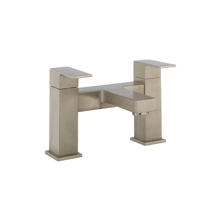 Photo of Crosswater Verge Brushed Stainless Steel Bath Filler Cutout