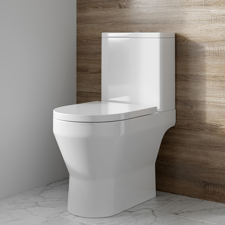 Lifestyle Photo of Britton Bathrooms Curve2 Open Back Close Coupled WC & Seat