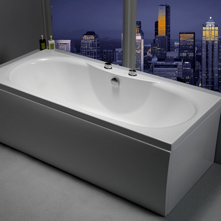 Carron Equation 1700 x 750mm Double Ended Bath Image 2
