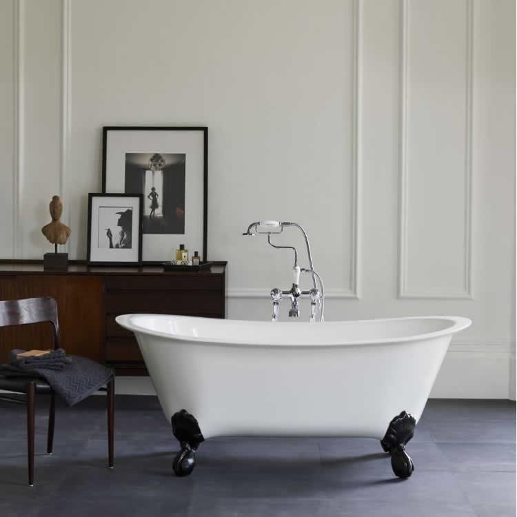 Photo of Clearwater Batello 1690 ClearStone Freestanding Bath