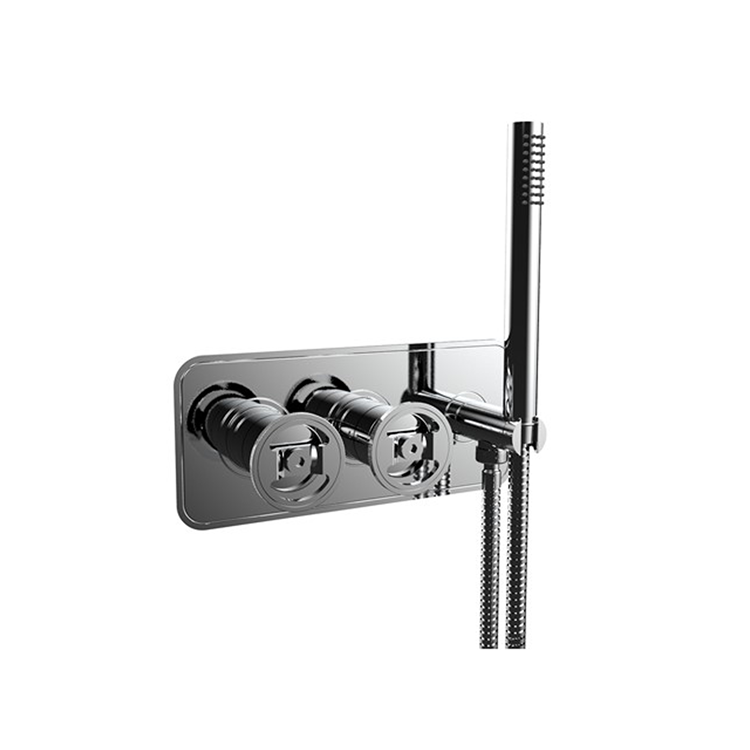 Photo of Crosswater Union Chrome Shower Valve with 2 Way Diverter & Handset