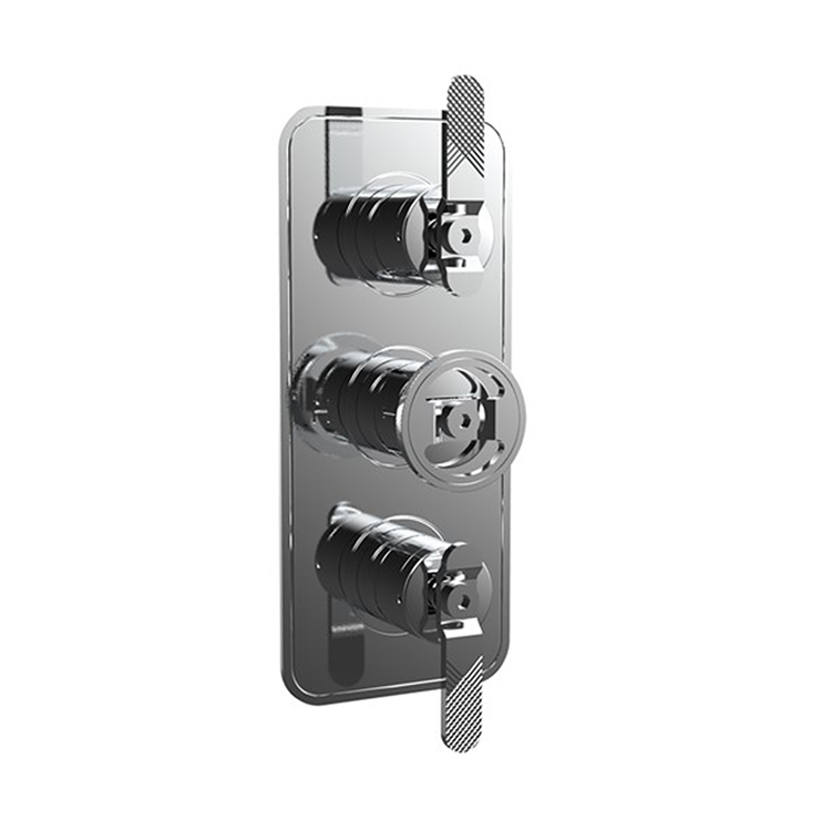 Photo of Crosswater Union Chrome Lever Shower Valve With 3 Way Diverter