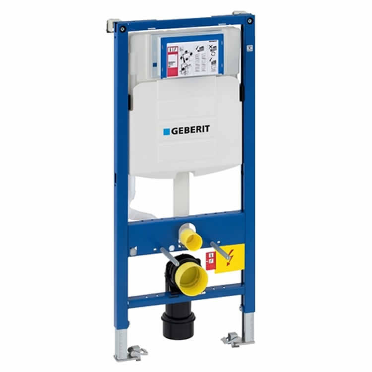 geberit duofix wc frame for wall hung toilet