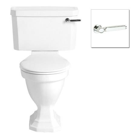 Heritage Bathrooms Granley Deco Comfort Height Close Coupled WC