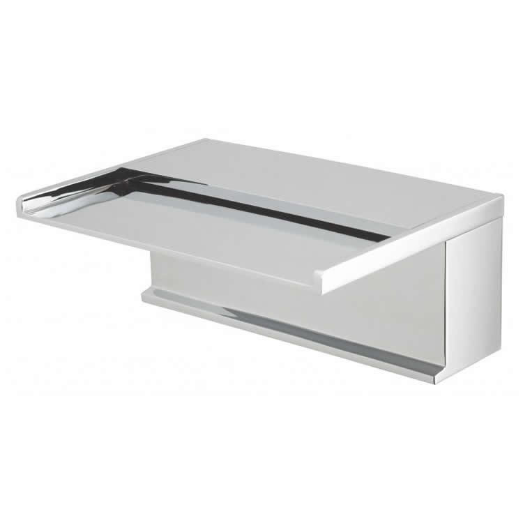 Vado Synergie Deck Mounted Waterfall Bath Spout Image 1